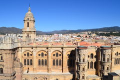 Aerial view of Malaga Stock Images