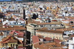 Aerial view of Malaga Stock Photos