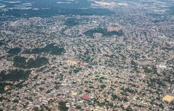Aerial view of Manaus city, brazil Royalty Free Stock Photo
