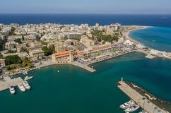 Aerial view of Mandrake Port royalty free stock image