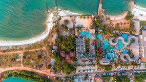 Aerial view of the mangrove swamp, dar es salaam. Aerial view of the mangrove swamp stock images