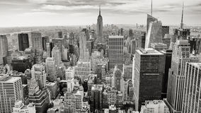 Aerial view of Manhattan, NY Stock Photos