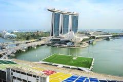 Singapore bay Royalty Free Stock Photos