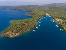Aerial view of Marmaris, Turkey Royalty Free Stock Photo