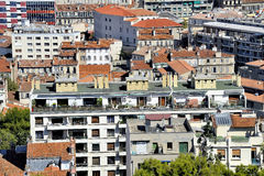 Aerial view of Marseille Royalty Free Stock Photos