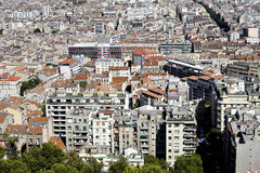 Aerial view of Marseille Stock Photo