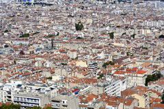 Aerial view of Marseille Royalty Free Stock Image