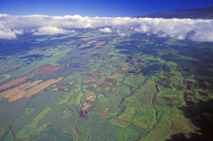 Aerial View of Maui, Hawaii Royalty Free Stock Photo