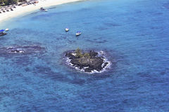 Aerial Mauritius Royalty Free Stock Images