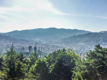 Aerial View of Medellin Colombia Stock Images