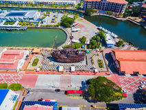 Aerial View of Melaka City. Historic Malacca City. Tourism spot for tourists Stock Photography