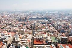 Aerial view of Mexico City Stock Photos