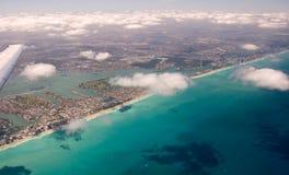 Aerial View of Miami Beach Stock Photos