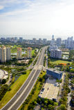Aerial view of Miami Stock Image