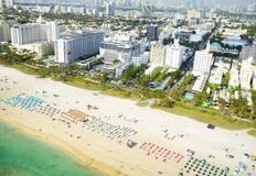 Aerial view of Miami Royalty Free Stock Image