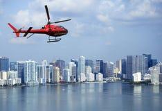 Aerial view of Miami Stock Photos