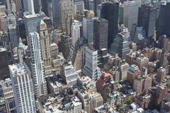 Aerial view of Midtown Manhattan Stock Photo