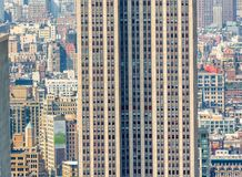 Aerial view of Midtown skyscrapers, New York City Royalty Free Stock Photos