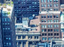 Aerial view of Midtown skyscrapers, New York City Royalty Free Stock Image