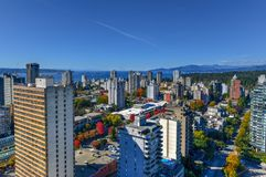 Vancouver, Canada Skyline royalty free stock image