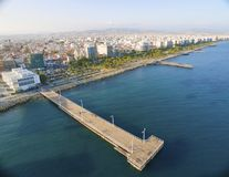 Aerial view of Molos, Limassol, Cyprus Stock Photography
