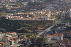 Aerial view of the monastry of Porto Royalty Free Stock Photography