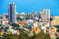 Aerial view of the Monte Carlo Casino Royalty Free Stock Photos