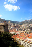 Aerial view of Monte-Carlo Monaco Royalty Free Stock Photo