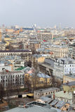 Aerial view of Moscow Stock Images