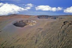Aerial View of Mount Haleakala Volcano, Maui, Hawaii Royalty Free Stock Photo