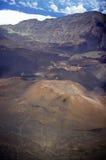 Aerial View of Mount Haleakala Volcano, Maui, Hawaii Stock Images