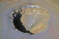Aerial View of Mount Haleakala Volcano, Maui, Hawaii Royalty Free Stock Photos