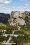 Aerial view of Mount Rushmore Royalty Free Stock Image