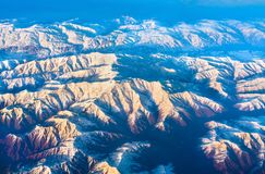 Aerial view of mountains in Northern Anatolia, Turkey. Aerial view of mountains in Northern Anatolia. Turkey Royalty Free Stock Photography