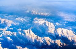 Aerial view of mountains in Northern Anatolia, Turkey. Aerial view of mountains in Northern Anatolia. Turkey Stock Photography