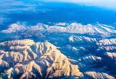 Aerial view of mountains in Northern Anatolia, Turkey. Aerial view of mountains in Northern Anatolia. Turkey Royalty Free Stock Photos