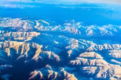 Aerial view of mountains in Northern Anatolia, Turkey. Aerial view of mountains in Northern Anatolia. Turkey Royalty Free Stock Photo