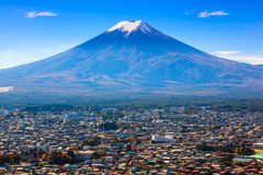 Aerial view of mt.Fuji, Japan Royalty Free Stock Photography