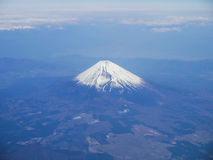 Aerial view of Mt. Fuji in Japan. Aerial view of Mt. Fuji in Shizuoka, Japan Royalty Free Stock Image