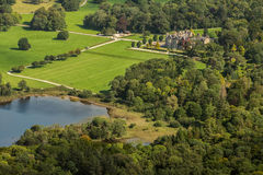 Aerial view of Muckross House. Killarney National Park,Ireland Royalty Free Stock Photography