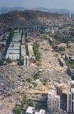 Aerial view of Mumbai slums Stock Images