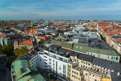 Aerial view of Munchen Stock Image