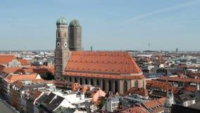 Munich Frauenkirche stock footage
