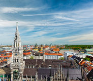 Aerial view of Munich, Germany Stock Images