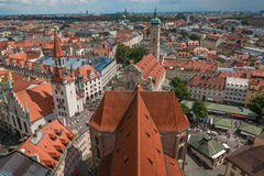 Aerial view of Munich Germany Stock Images