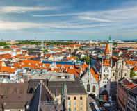 Aerial view of Munich Stock Images