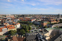 Aerial view of Munich Stock Photos
