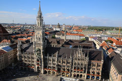 Aerial view of Munich Royalty Free Stock Photos