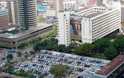 Aerial view of Nairobi Kenya. Aerial view of Nairobi the capital city of Kenya Stock Photos