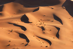 Aerial View of the Namib Desert Stock Photography